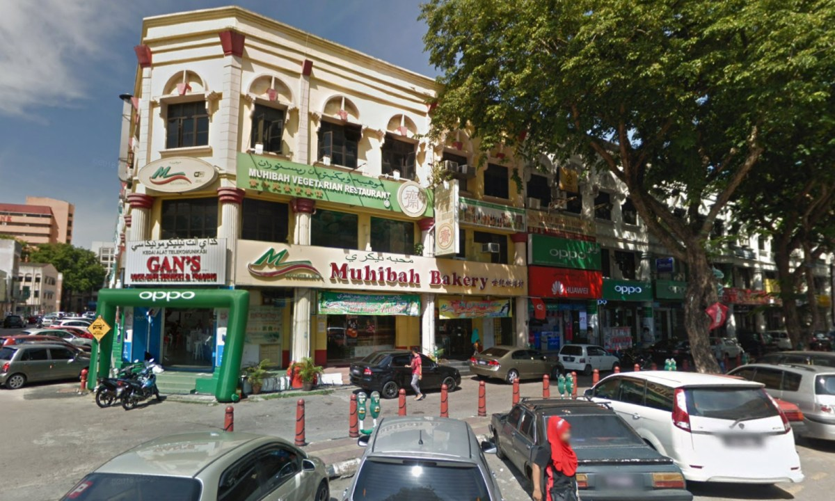 The bakery where the robbery took place in Kota Bharu, Kelantan, Malaysia. Photo: Google Maps