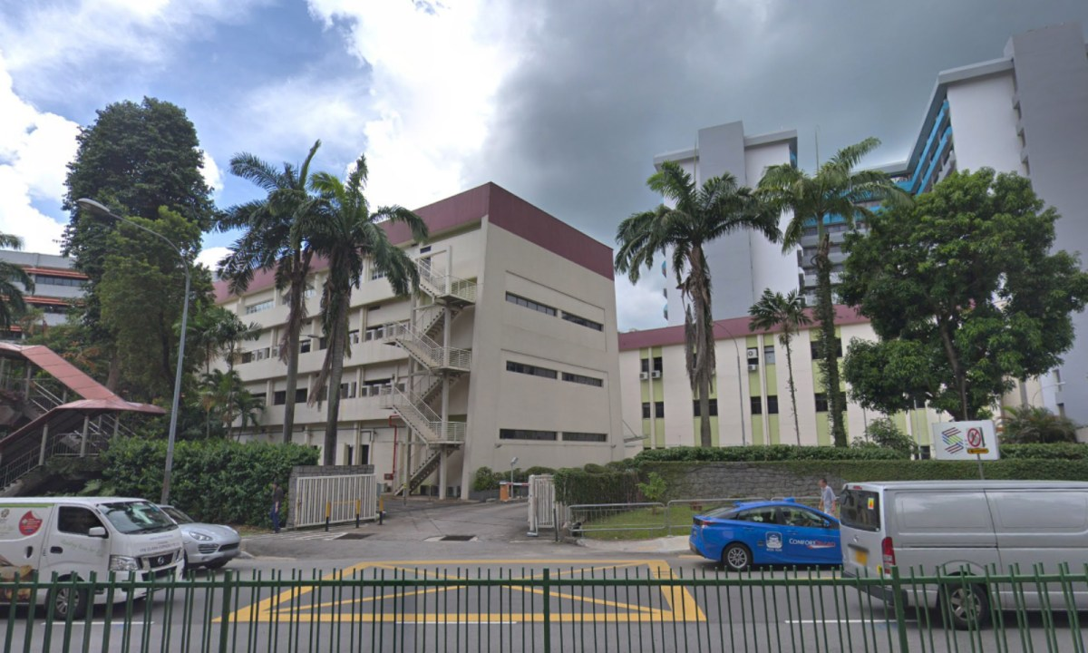The building now being used by foreign domestic workers.  Photo: Google Maps
