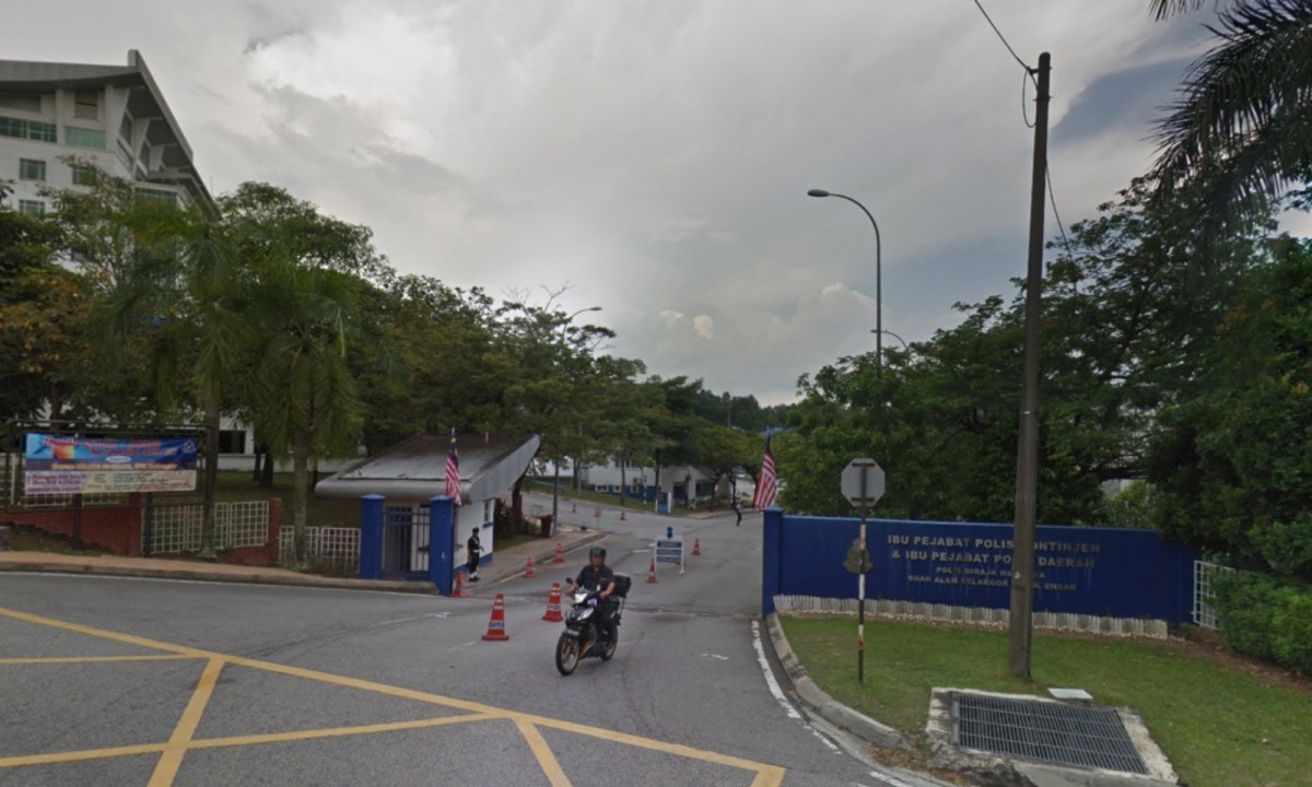 Shah Alam district police headquarters, Selangor, Malaysia. Photo: Google Maps