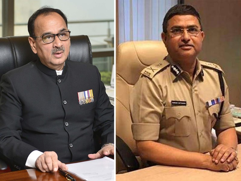 CBI Director Alok Verma (L) and his deputy Rakesh Asthana. Photo: Provided