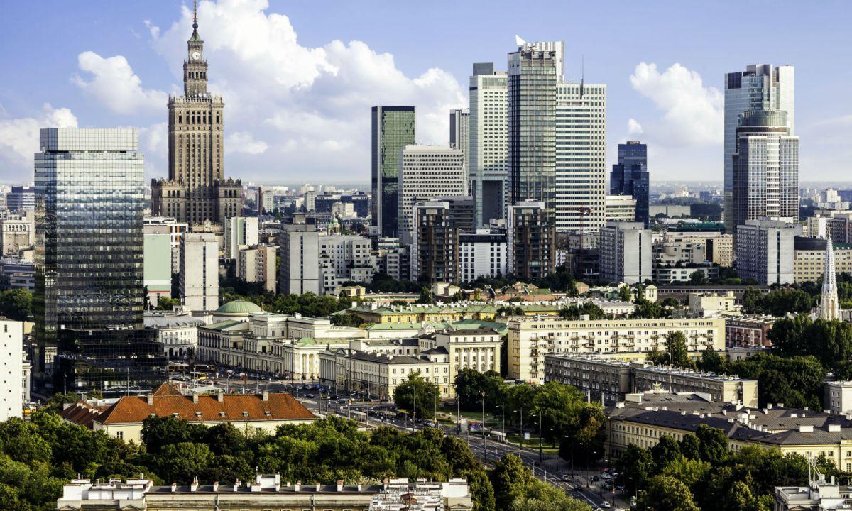 Warsaw, capital of Poland. Photo: iStock