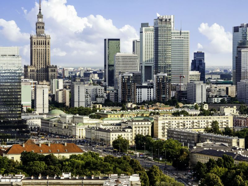 Warsaw, capital of Poland. Photo: iStock