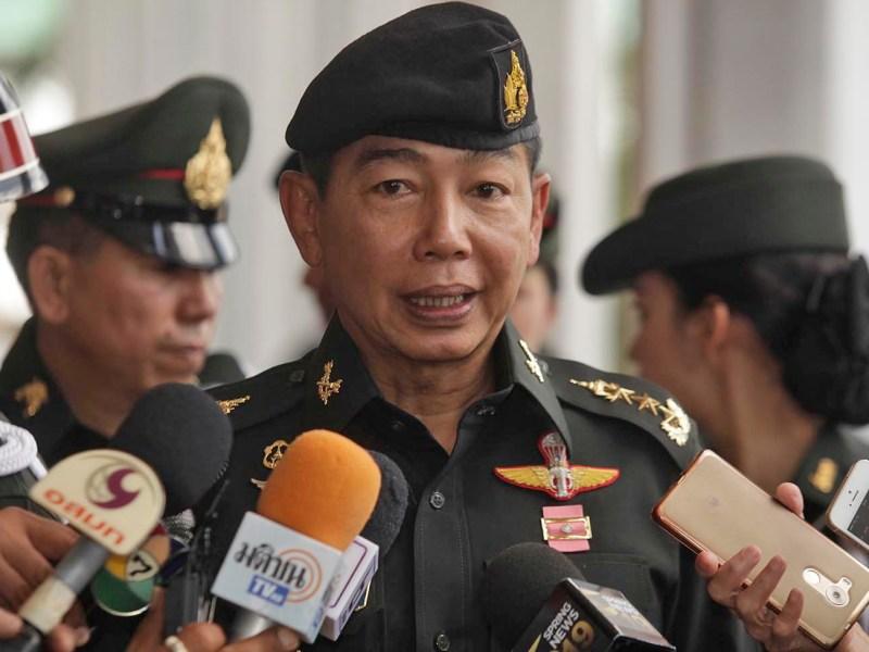 Thailand's army chief General Apirat Kongsompong. Photo: Bangkok Post/ Pornprom Satrabhaya / via AFP