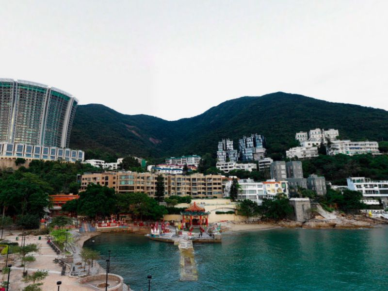 Repulse Bay, Hong Kong Island Photo: Google Maps