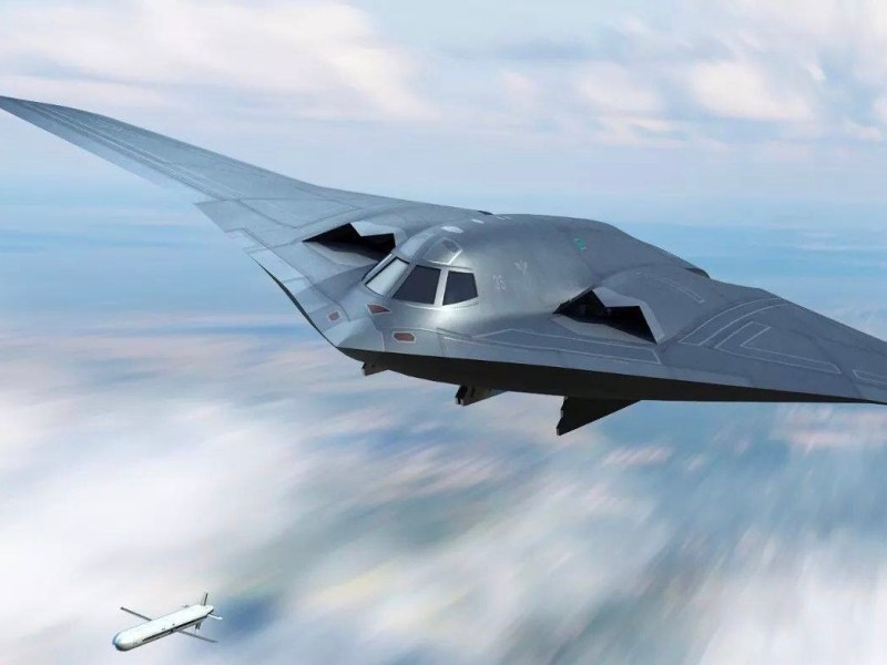 A computer-generated rendering of an H-20 bomber. Photo: Twitter