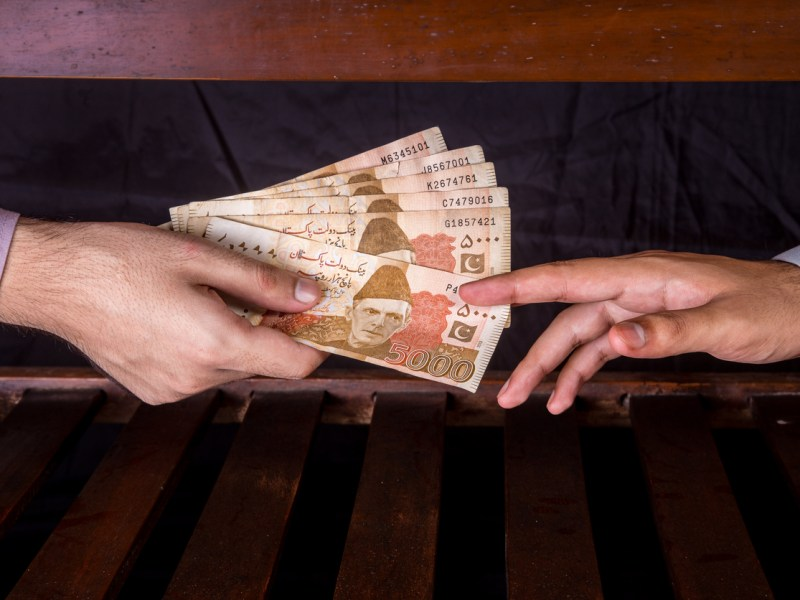 Pakistani citizens who blow the whistle on corrupt officials will receive cash payments. Photo: iStock