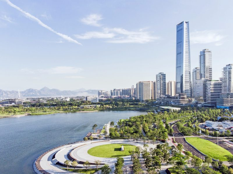 Shenzhen city in China. Photo: iStock