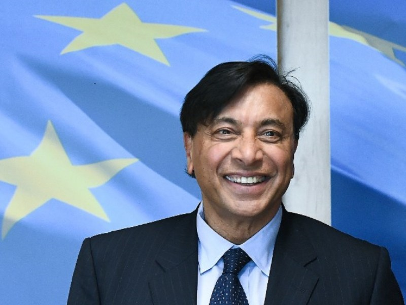 ArcelorMittal chairman and CEO Lakshmi Mittal. Photo: AFP