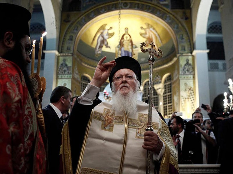 Patriarch Bartolomew: making moves into Ukraine. Photo: Shutterstock