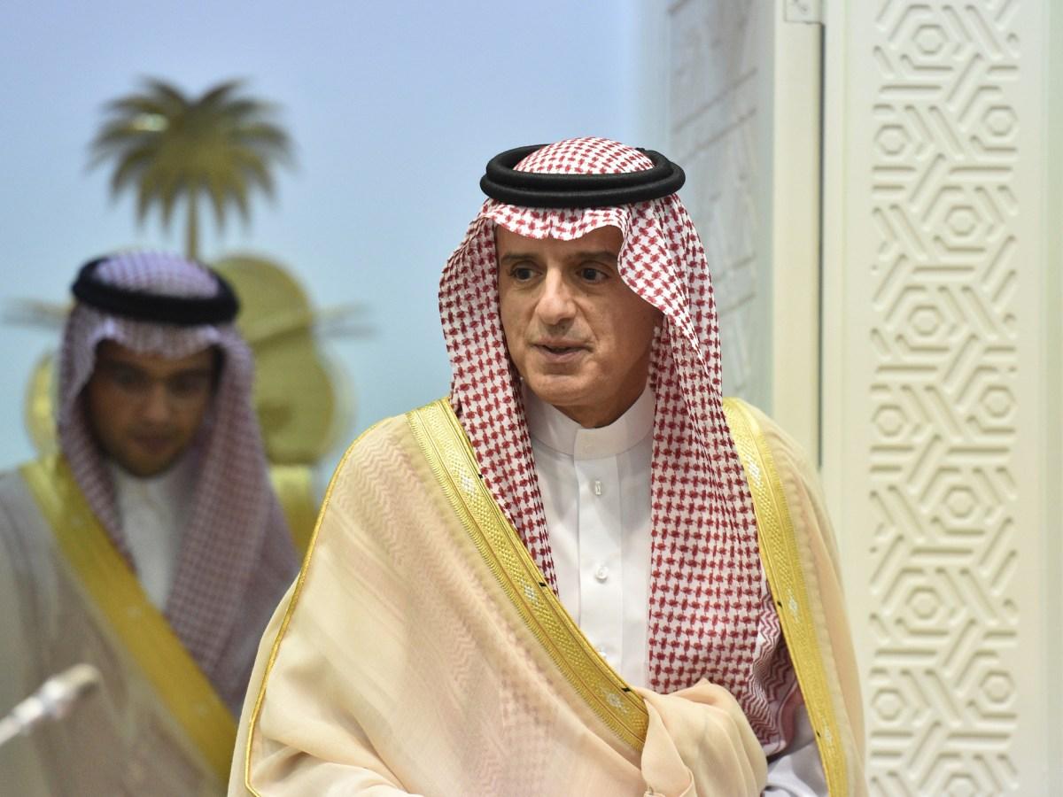 Saudi Foreign Minister Adel al-Jubeir. Photo: AFP