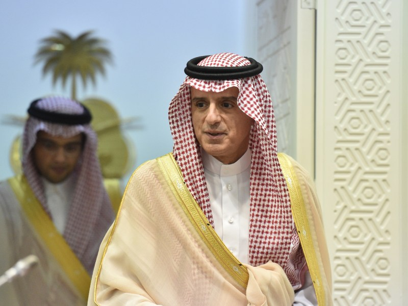 Saudi Foreign Minister Adel al-Jubeir. Photo: AFP