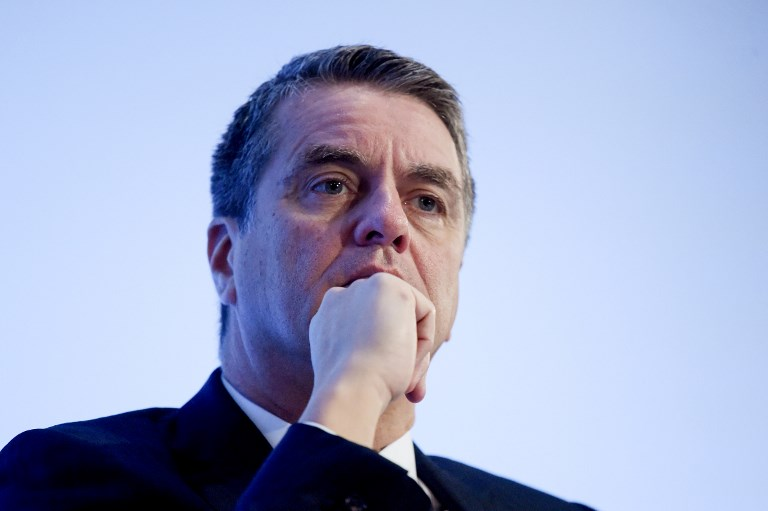 WTO chief Roberto Azevedo is deeply concerned about the potential impact of new trade barriers. Photo: AFP