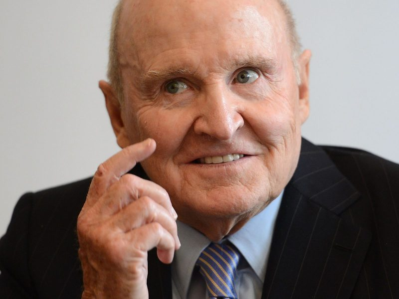Jack Welch, the former CEO of General Electric. Photo: AFP