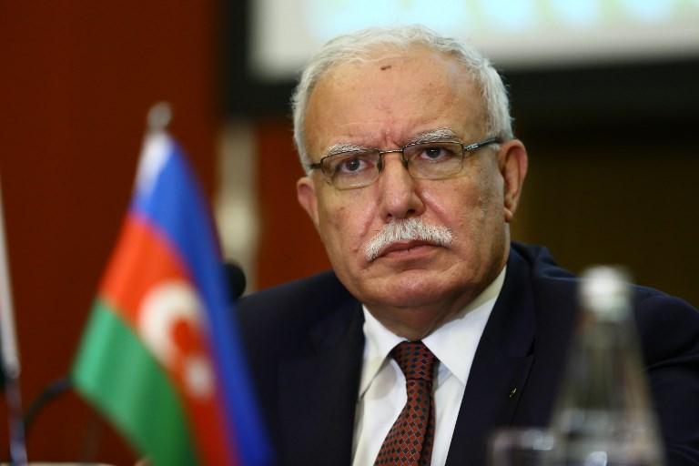 Palestinian Foreign Minister Riyad al-Maliki. Photo: Resul Rehimov / Anadolu Agency