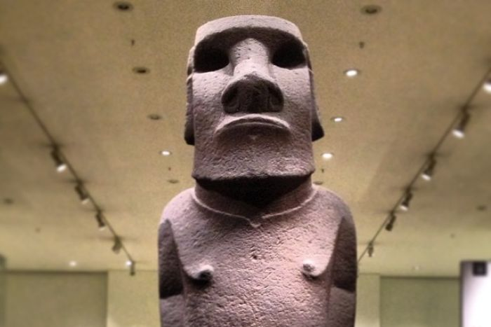 Hoa Haka Nana'ia is one of the star exhibits in London's British Museum. Photo: Flickr / B Rosen)