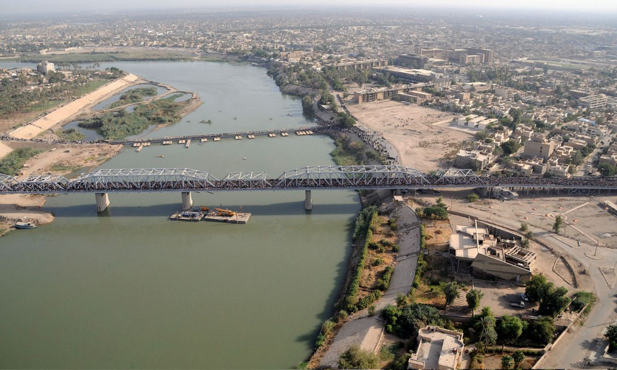 Baghdad in Iraq, where some Filipinos have been sent to work illegally. Photo: Wikimedia Commons