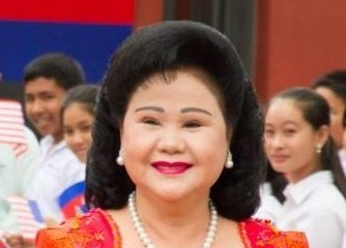 Bun Rany, Cambodian Prime Minister Hun Sen's wife. Photo: Wikipedia