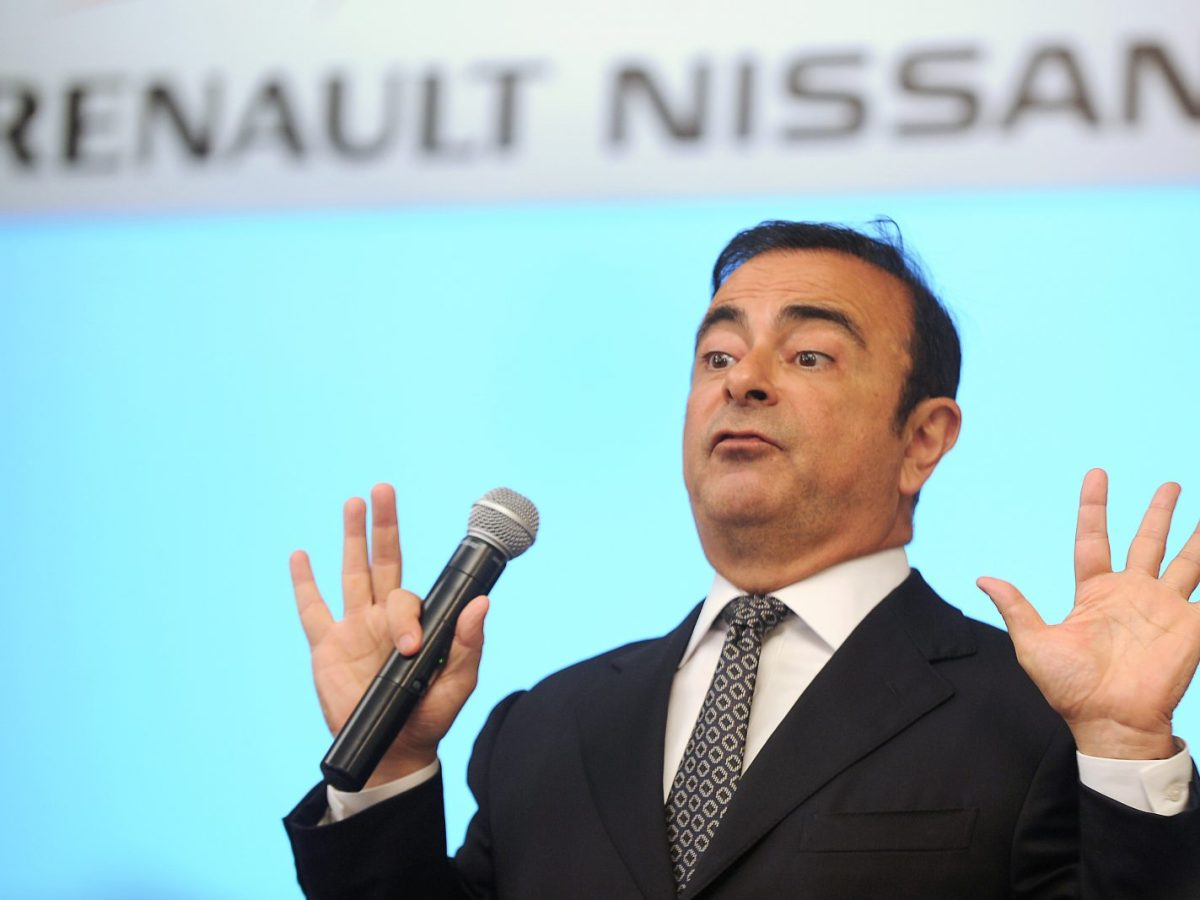 Former chairman and CEO of Renault-Nissan Carlos Ghosn. Nissan board members have sacked Ghosn in a spectacular fall from grace. Photo: AFP/Manjunath Kiran