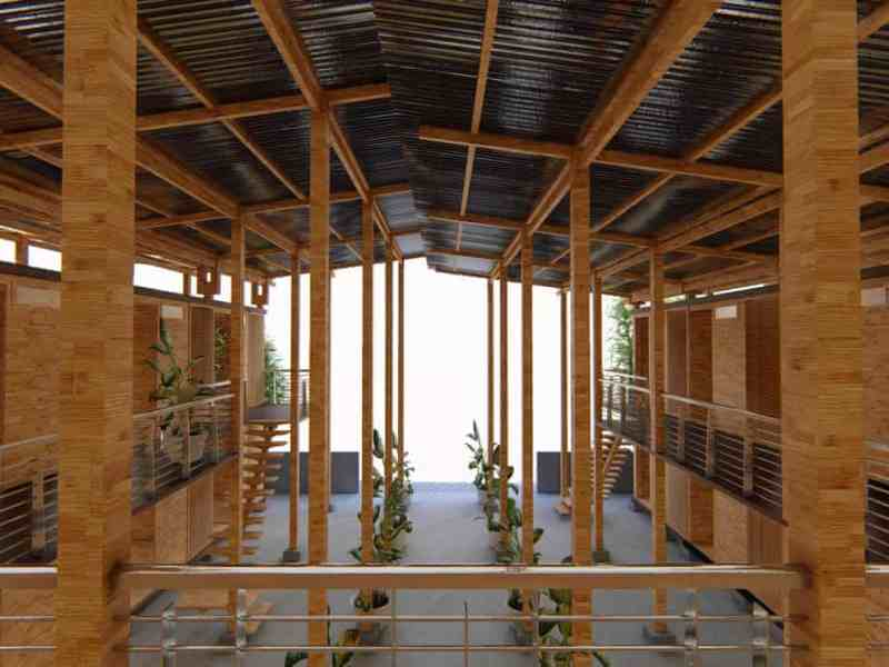 Earl Forlales' Cubo homes can be built for around $77 per square meter. Photo: handout