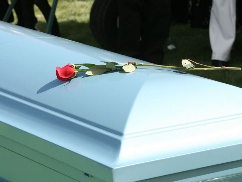 The employers paid for the casket. Photo: iStock