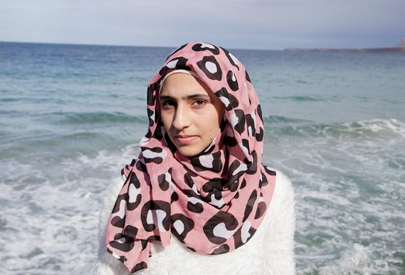 Syrian refugee Doaa Al Zamel. Photo: Elena Dorfman / UNHCR