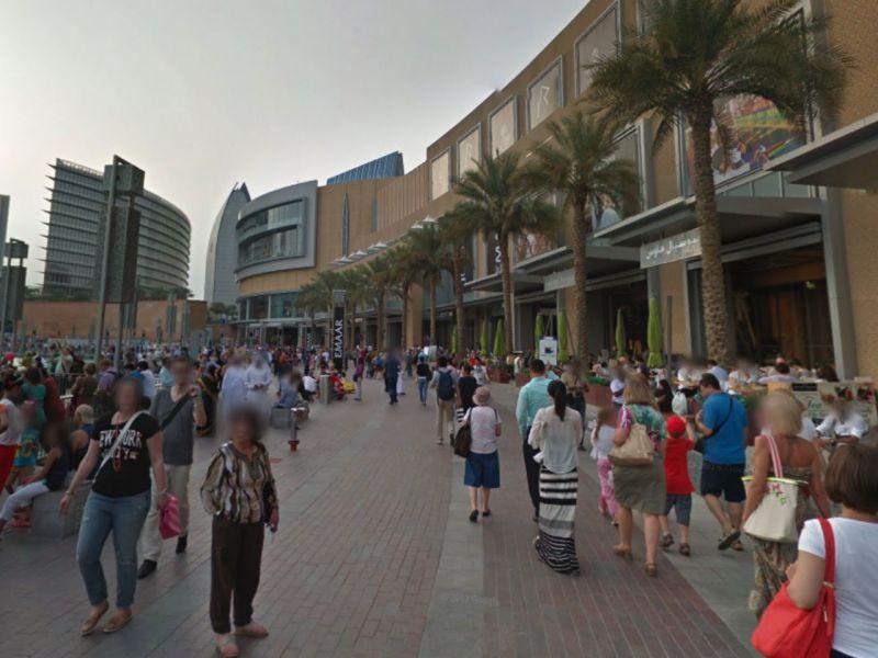 The Dubai Mall. Photo: Google Maps