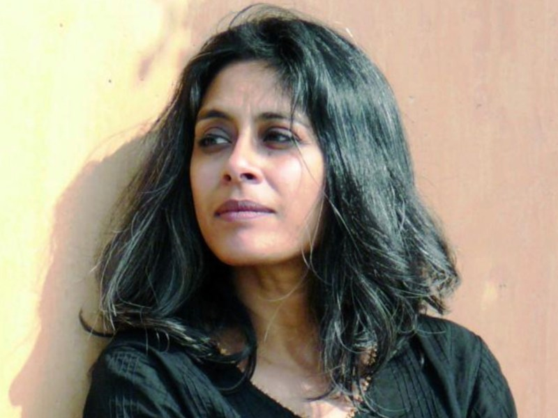 Indian novelist Anuradha Roy in a file photo. Image: Facebook