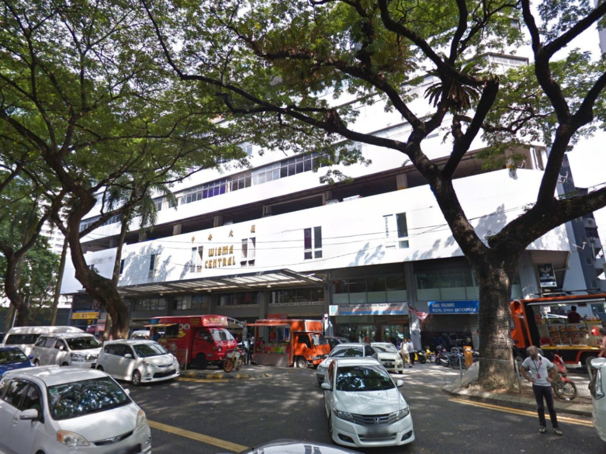 Wisma Central on Jalan Ampang in Kuala Lumpur, Malaysia. Photo: Google Maps