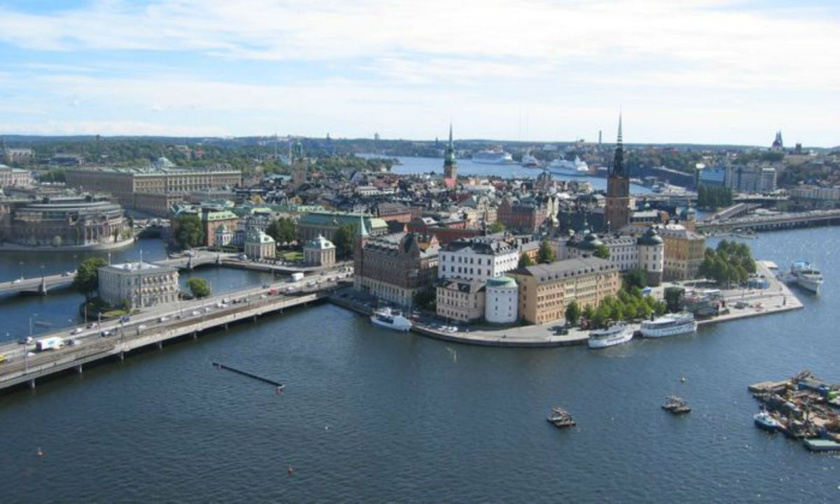 Stockholm, Sweden. Photo: Wikimedia Commons