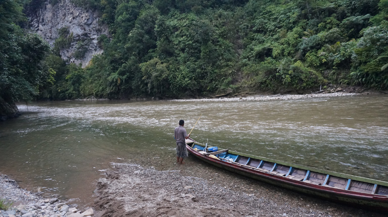 The Bila River in Sumatra is under threat from a major dam proposal. Photo: Gregory McCann