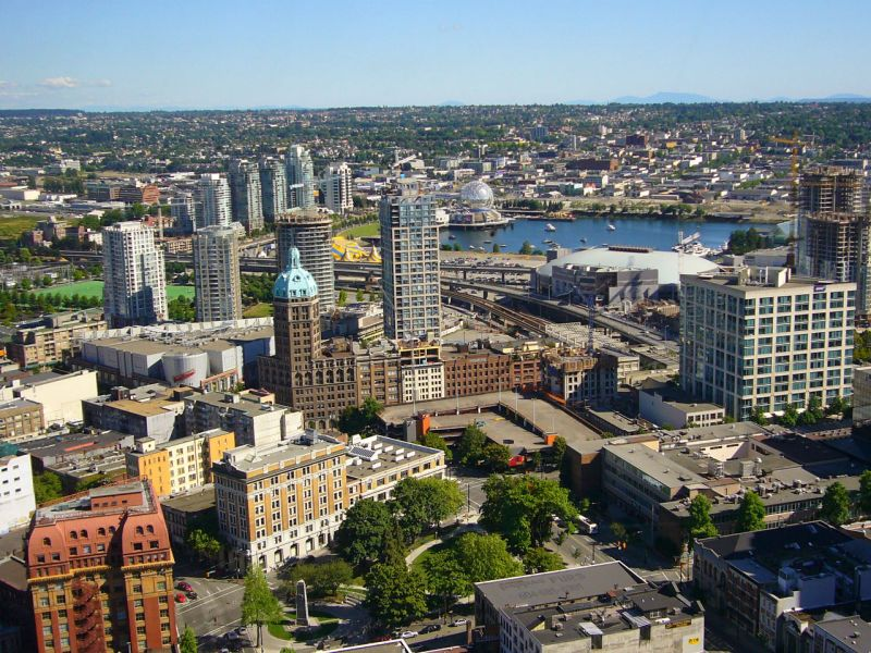 Vancouver, Canada. Photo: Wikimedia Commons