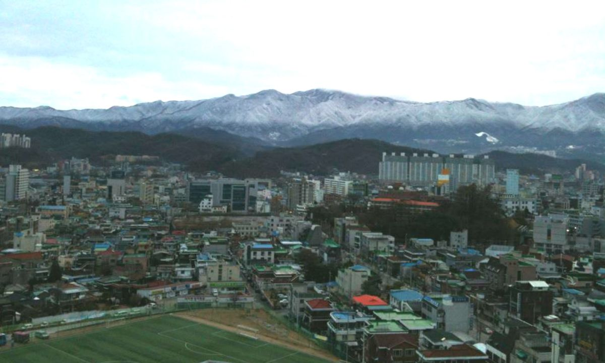 Wonju City in South Korea. Photo: Wikimedia Commons