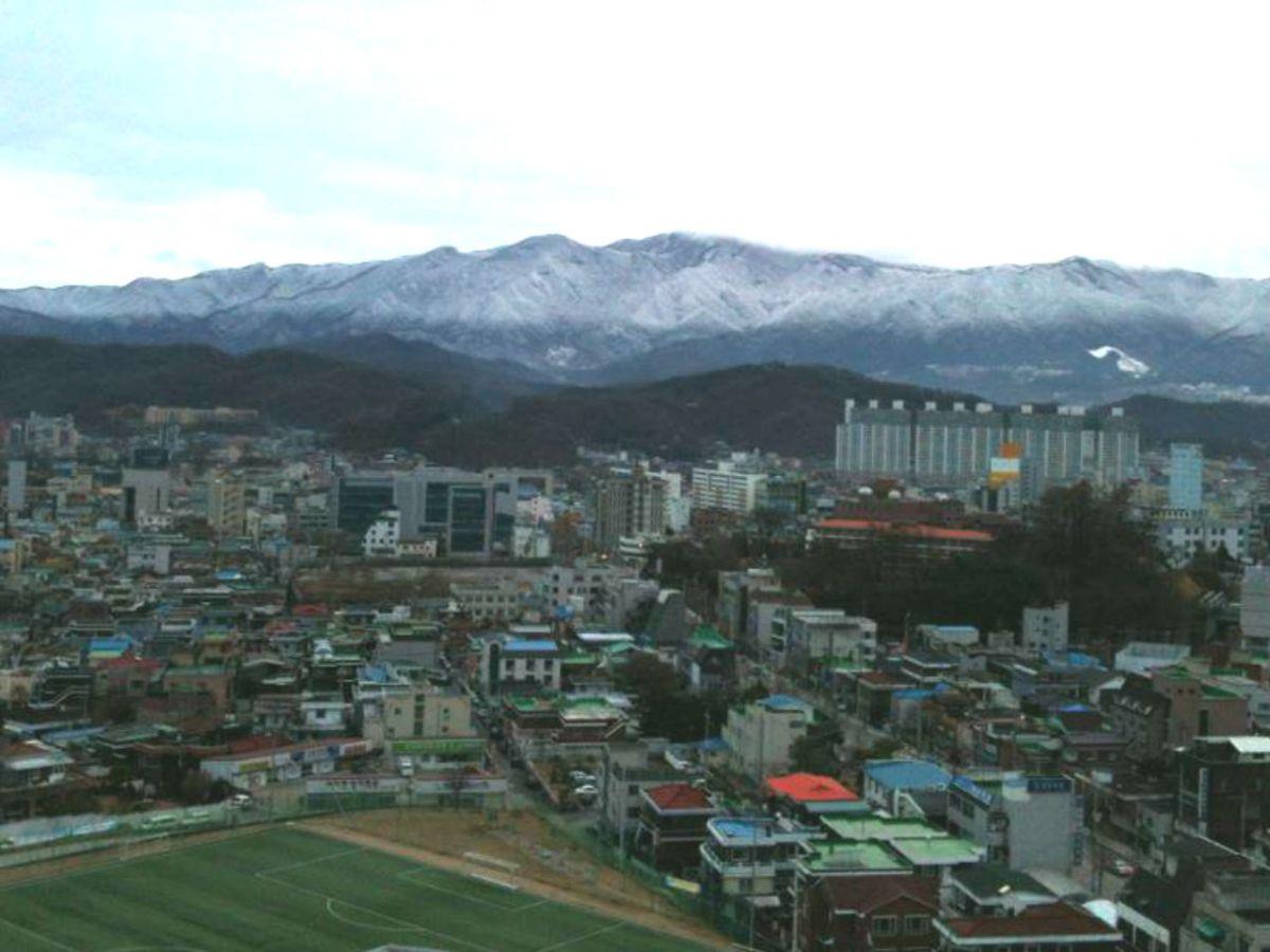 Wonju City in South Korea. Photo: Wikimedia Commons