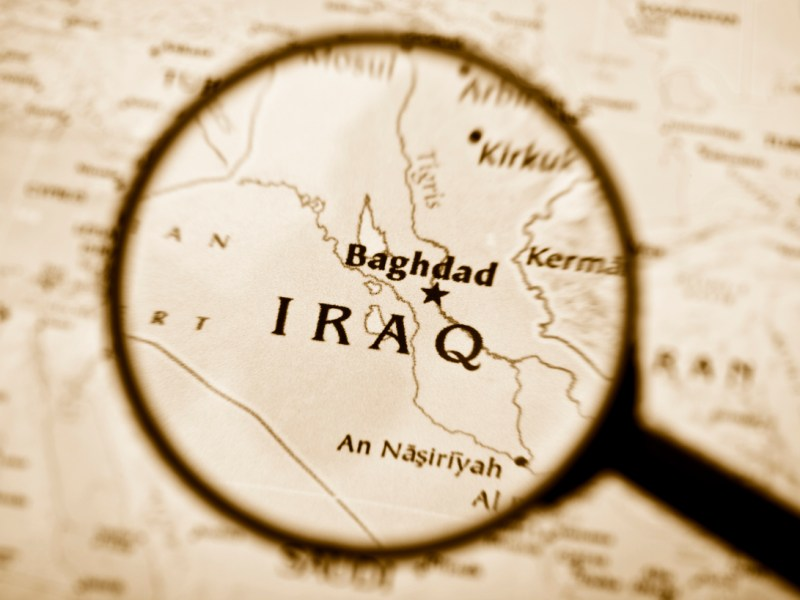 Map of Iraq: iStock