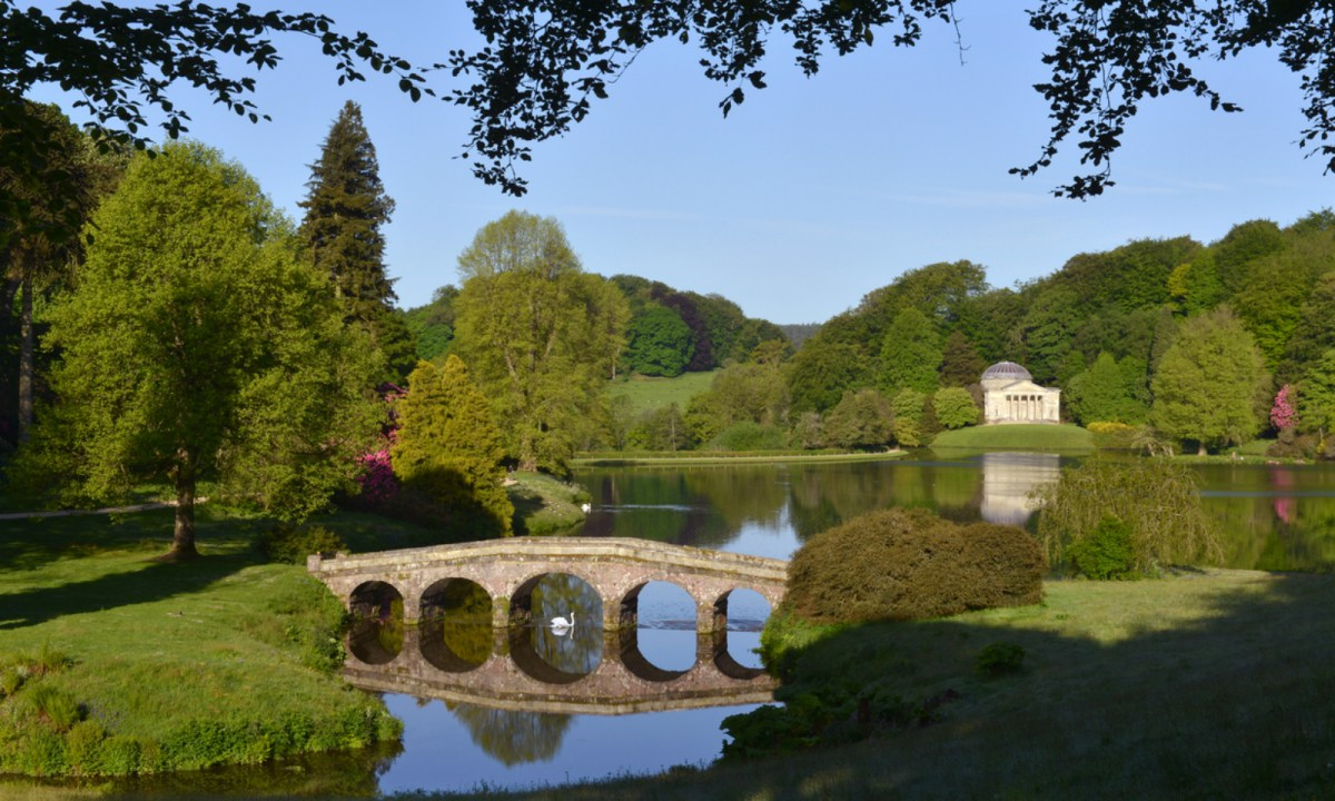 Stourhead House in Wiltshere, which wild boars like to visit. Photo: iStock
