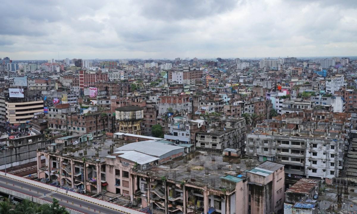 Dhaka, Bangladesh, where two Chinese men fancied a canine feast. Photo: iStock