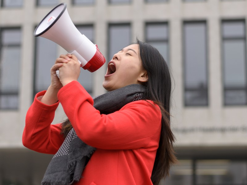 Fears of a government crackdown on activists are growing in China. Representational image: iStock