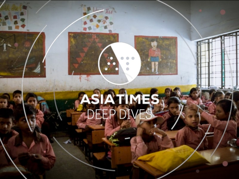 AT Deep Dives: A glaring contrast in the quality of education between two neighboring states. Photo: Ankur Tanwar