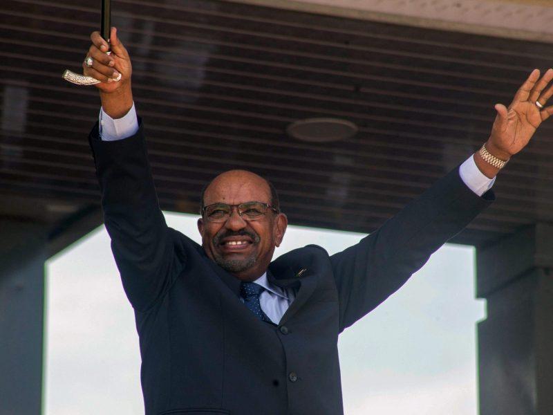 الرئيس السوداني عمر البشير صورة: : Akuot Chol / AFP