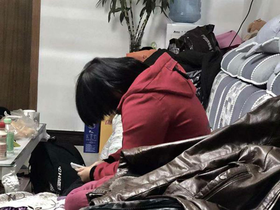 The girl was found six years after she went missing. Photo: thepaper.cn