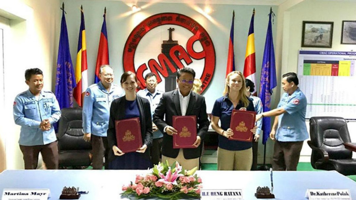 CMAC signed the Memorandum of Understanding with two animal rights NGOs. Photo: CMAC.