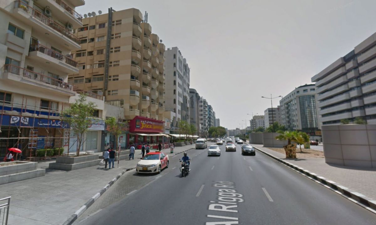 Al Muraqqabat in Dubai where the incident took place. Photo: Google Maps