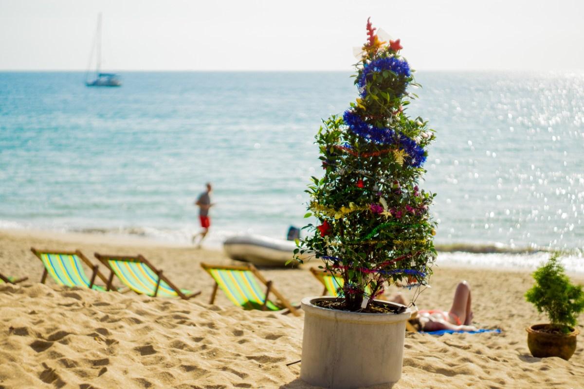 An alternative Christmas on the beach in Ko Lanta, Krabi, Thailand.  Photo: iStock