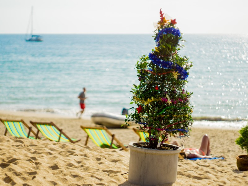 An alternative Christmas on the beach in Ko Lanta, Krabi, Thailand.  Photo: iStock