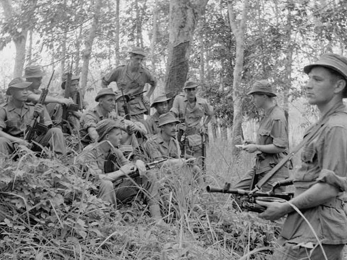 British troops were operating against communist insurgents in the Malay Emergency when the massacre took place. Photo: © IWM (D 88041), CC BY-NC