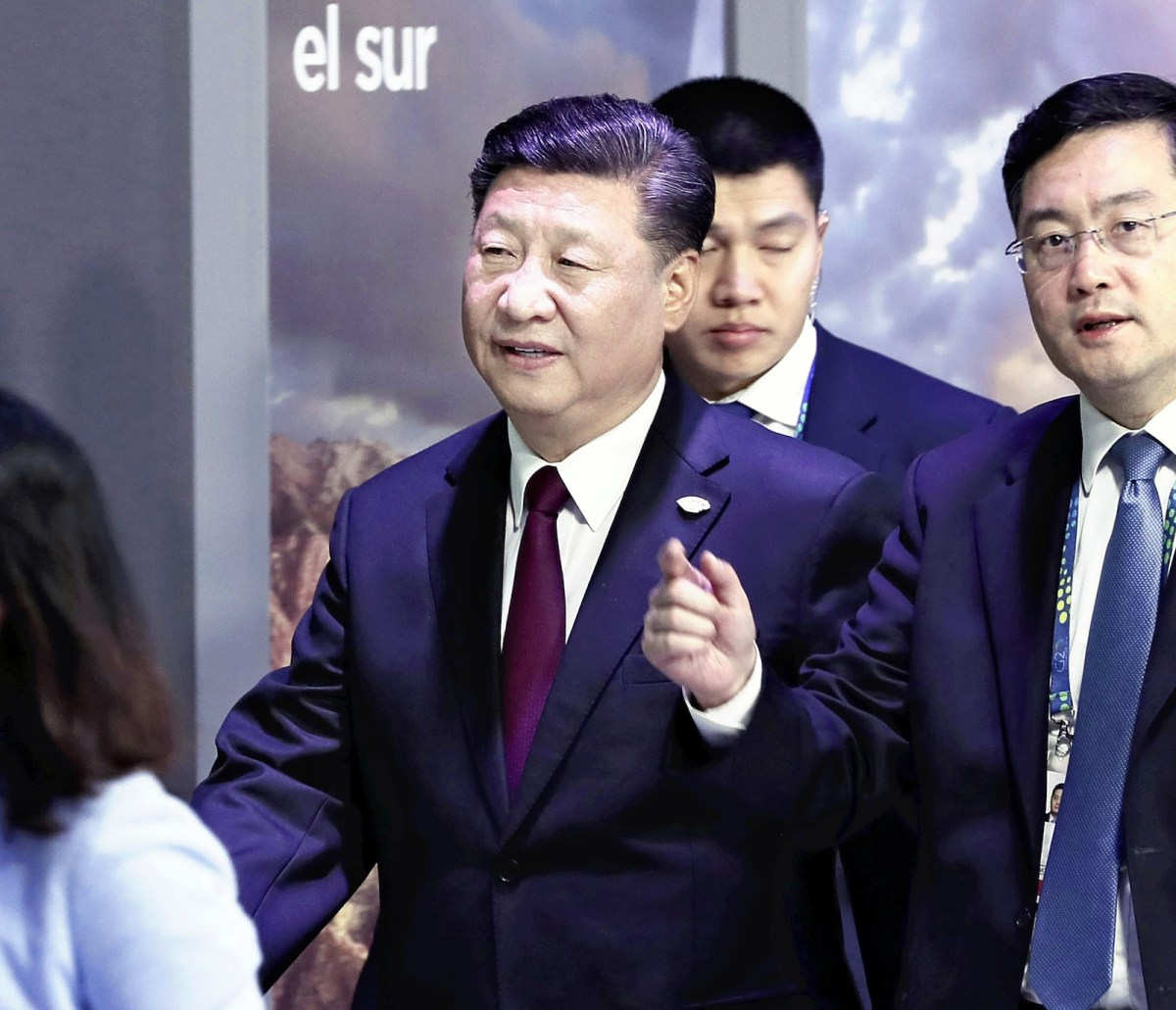 Chinese President Xi Jinping arrives at the venue of G20 summit conference in Buenos Aires, Argentina, on November 30, 2018. Photo: AFP Forum via The Yomiuri Shimbun