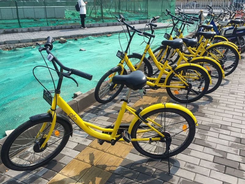 Ofo is facing a large amount of refund requests in China. Photo: Wikimedia Commons/N509FZ