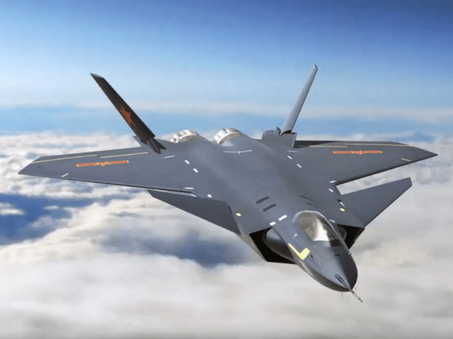 The J-20 is China's most advanced stealth fighter jet in service. Photo: Twitter