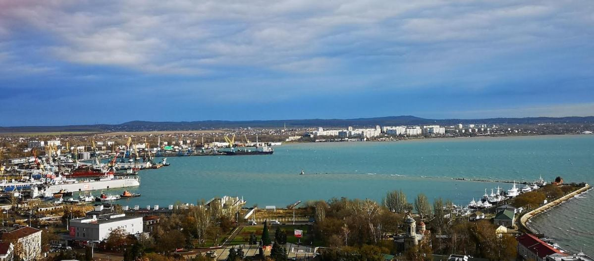 Kerch Harbor in the Russian controlled Sea of Azoz. Photo: Asia Times
