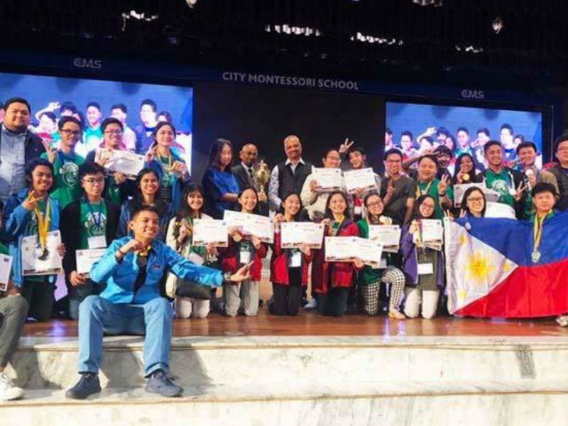 Filipino students bagged 33 medals in an international mathematics competition in India. Photo: Mathematics Trainers Guild-Philippines